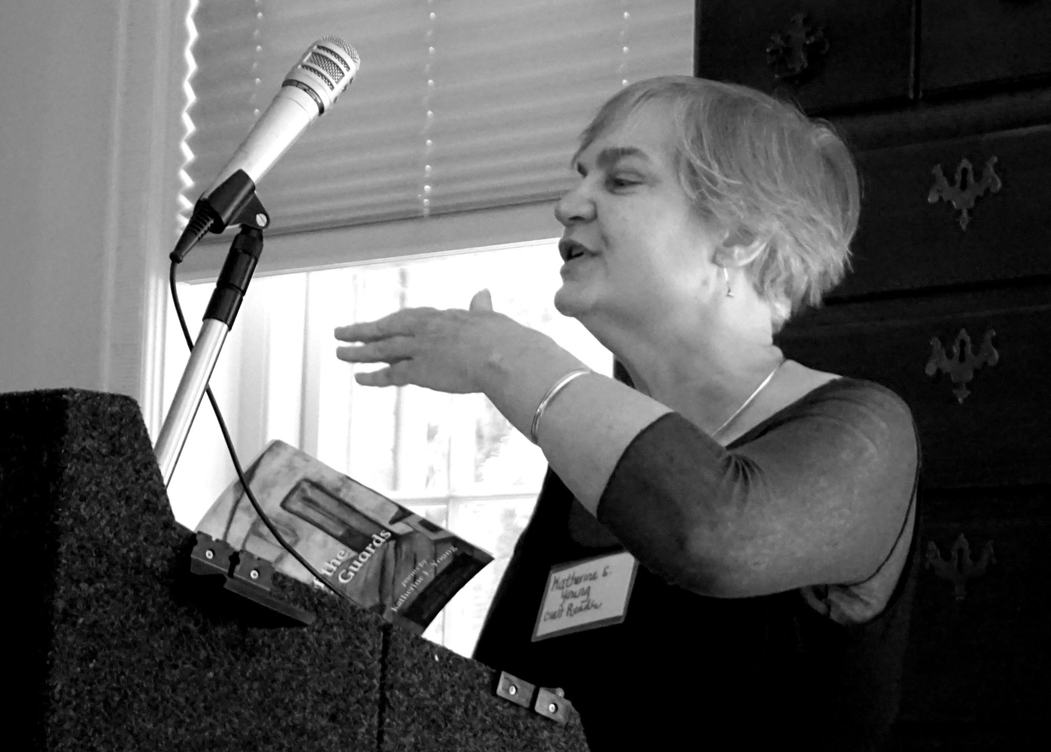 Brockman-Campbell reading at NCPS 19 Sept. 2015 photo by Jeanne Julian (1)